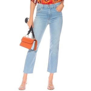 GRLFRND • Reed High-Rise Slim Jeans in Holding On